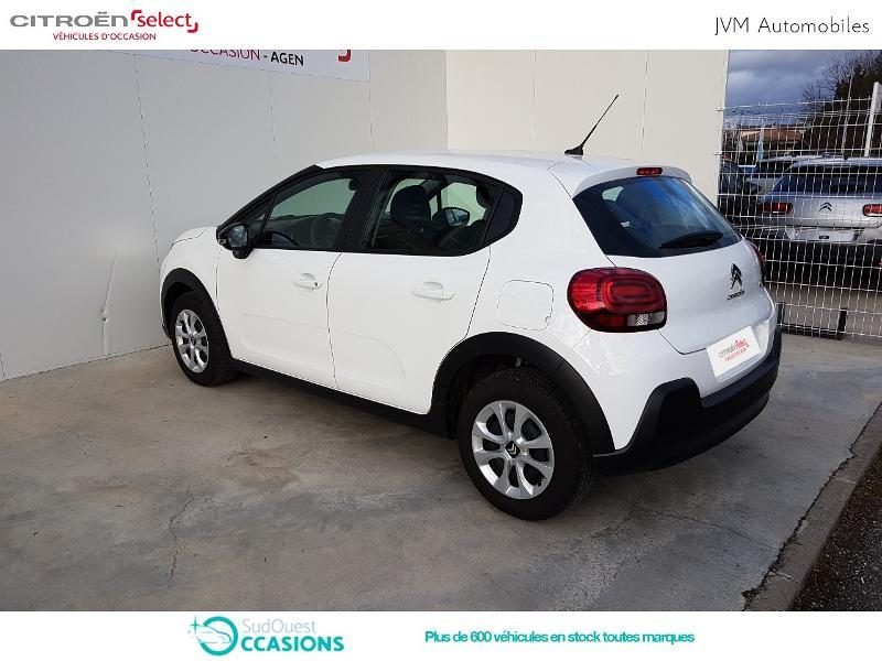 Photo 7 de l'offre de Citroën C3 PureTech 110ch Feel S&S E6.d-TEMP à 14 890 € chez SudOuest Occasions