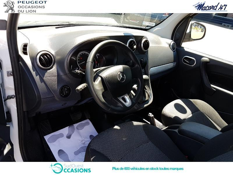 Photo 8 de l'offre de Mercedes-Benz Citan 112 ESS Long Select Euro6 à 13 990 € chez SudOuest Occasions