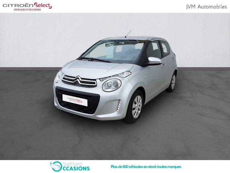 Photo 1 de l'offre de Citroën C1 VTi 72 S&S Feel 5p E6.d-TEMP à 10 990 € chez SudOuest Occasions