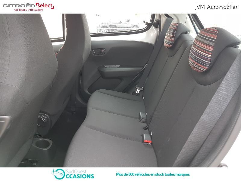 Photo 10 de l'offre de Citroën C1 VTi 72 S&S Feel 5p E6.d-TEMP à 10 990 € chez SudOuest Occasions
