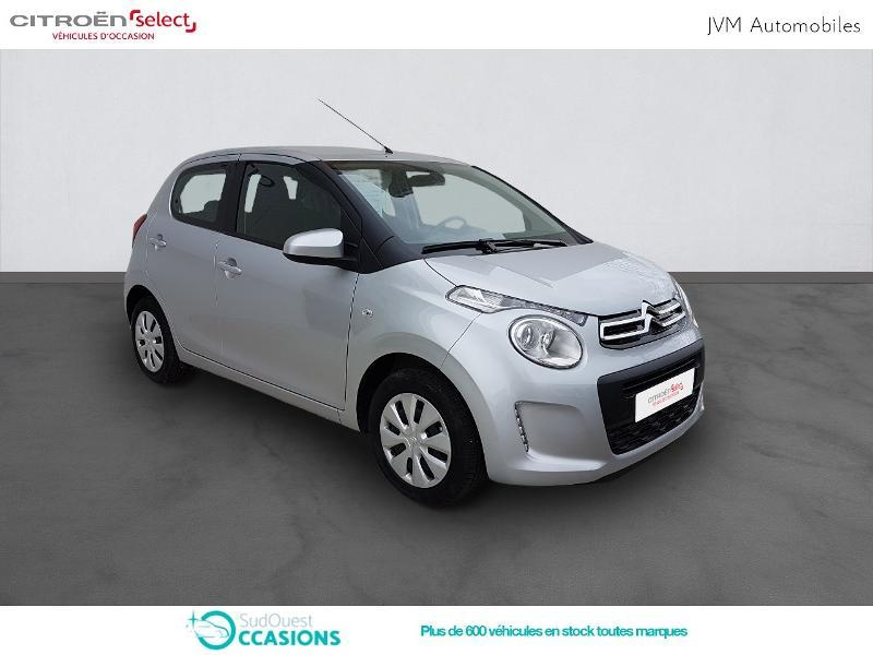 Photo 3 de l'offre de Citroën C1 VTi 72 S&S Feel 5p E6.d-TEMP à 10 990 € chez SudOuest Occasions