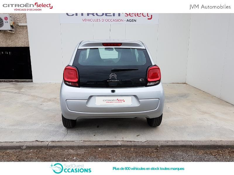 Photo 5 de l'offre de Citroën C1 VTi 72 S&S Feel 5p E6.d-TEMP à 10 990 € chez SudOuest Occasions