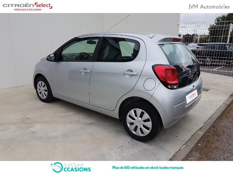 Photo 7 de l'offre de Citroën C1 VTi 72 S&S Feel 5p E6.d-TEMP à 10 990 € chez SudOuest Occasions