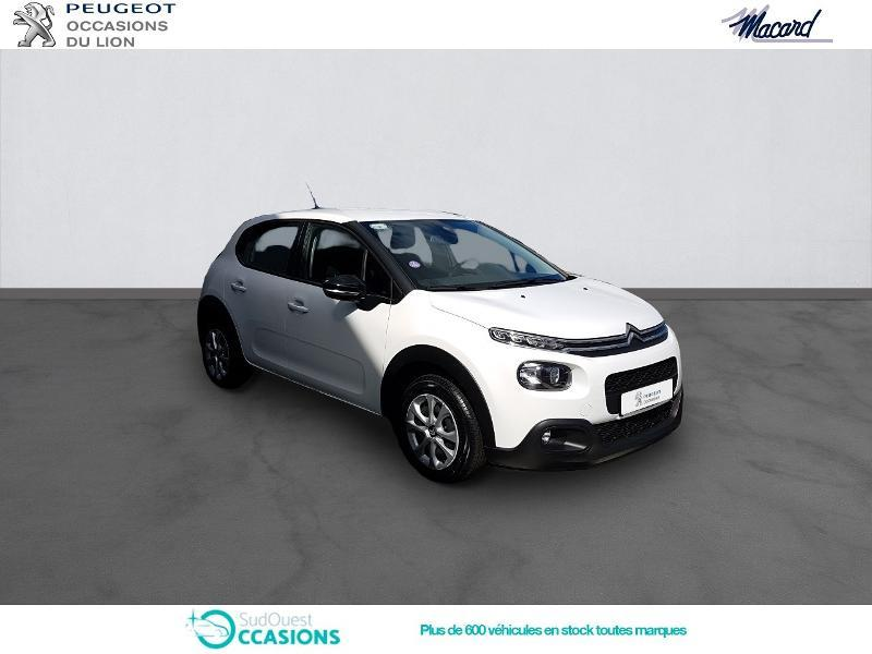 Photo 3 de l'offre de Citroën C3 PureTech 82ch Feel Business à 12 960 € chez SudOuest Occasions