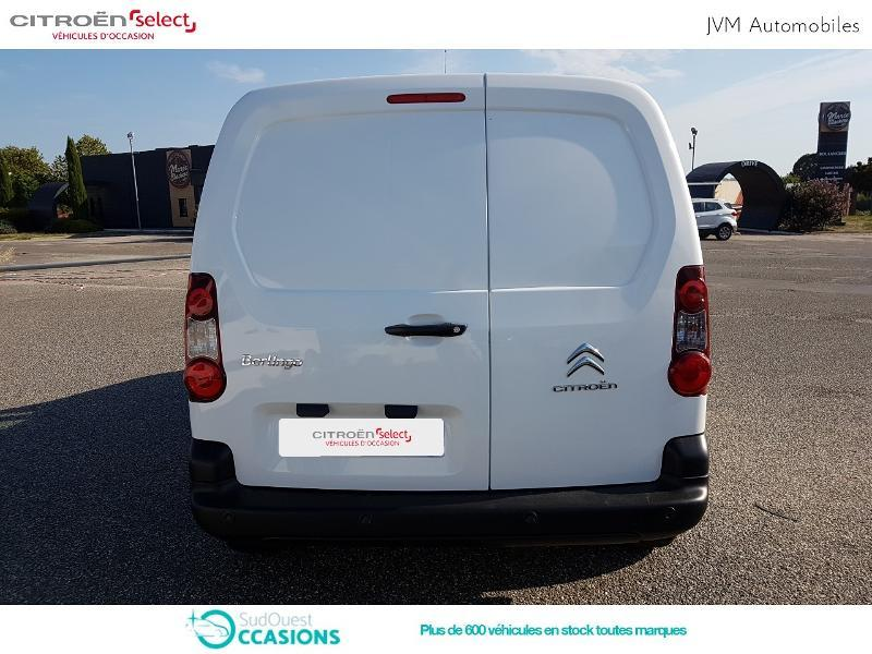 Photo 5 de l'offre de Citroën Berlingo M 1.6 BlueHDi 100 Club à 11 988 € chez SudOuest Occasions