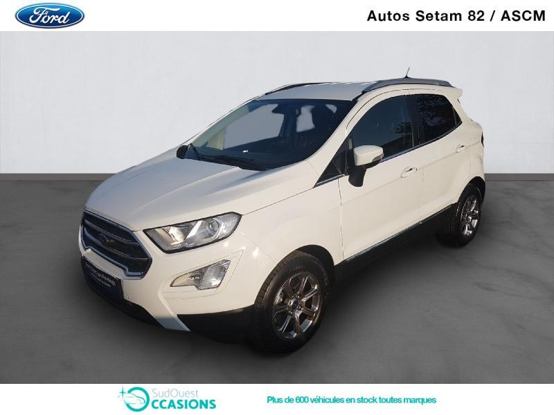 Photo 1 de l'offre de Ford EcoSport 1.5 EcoBlue 100ch Titanium Business Euro6.2 à 15 930 € chez SudOuest Occasions