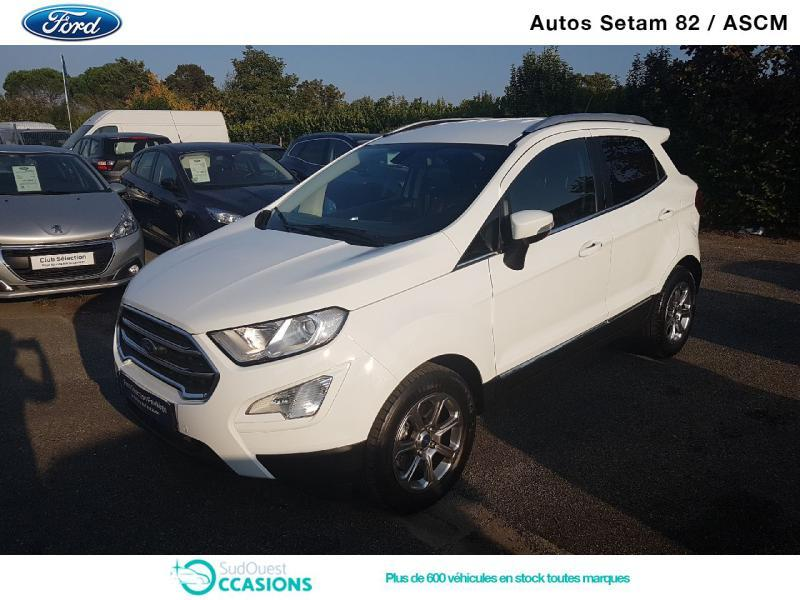 Photo 19 de l'offre de Ford EcoSport 1.5 EcoBlue 100ch Titanium Business Euro6.2 à 15 930 € chez SudOuest Occasions