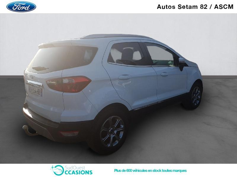 Photo 3 de l'offre de Ford EcoSport 1.5 EcoBlue 100ch Titanium Business Euro6.2 à 15 930 € chez SudOuest Occasions