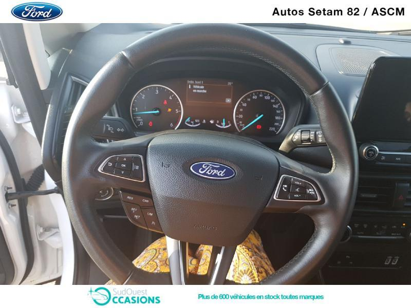 Photo 8 de l'offre de Ford EcoSport 1.5 EcoBlue 100ch Titanium Business Euro6.2 à 15 930 € chez SudOuest Occasions