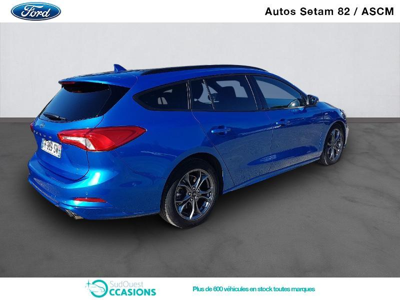 Photo 3 de l'offre de Ford Focus SW 2.0 EcoBlue 150ch ST-Line Business BVA à 24 900 € chez SudOuest Occasions