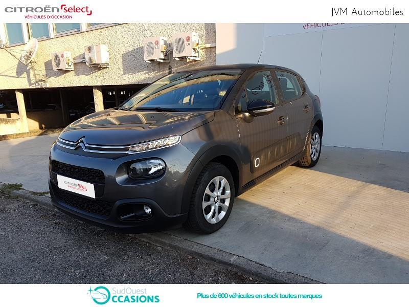Photo 18 de l'offre de Citroën C3 PureTech 68ch Feel E6.d-TEMP 105g à 13 290 € chez SudOuest Occasions