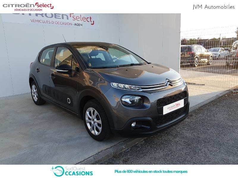 Photo 20 de l'offre de Citroën C3 PureTech 68ch Feel E6.d-TEMP 105g à 13 290 € chez SudOuest Occasions