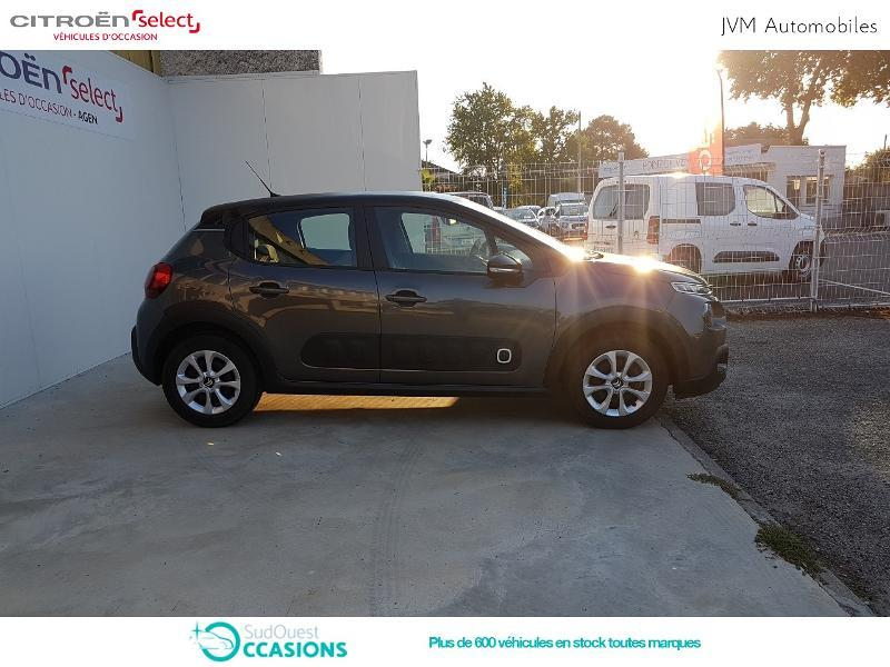 Photo 4 de l'offre de Citroën C3 PureTech 68ch Feel E6.d-TEMP 105g à 13 290 € chez SudOuest Occasions