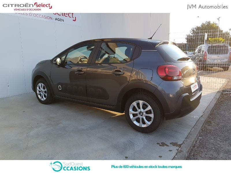 Photo 7 de l'offre de Citroën C3 PureTech 68ch Feel E6.d-TEMP 105g à 13 290 € chez SudOuest Occasions