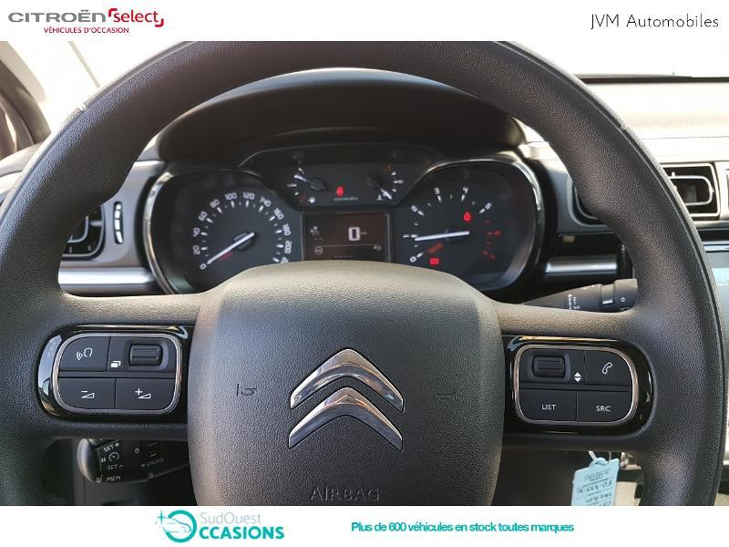 Photo 12 de l'offre de Citroën C3 BlueHDi 100ch Feel S&S E6.d-TEMP à 14 890 € chez SudOuest Occasions