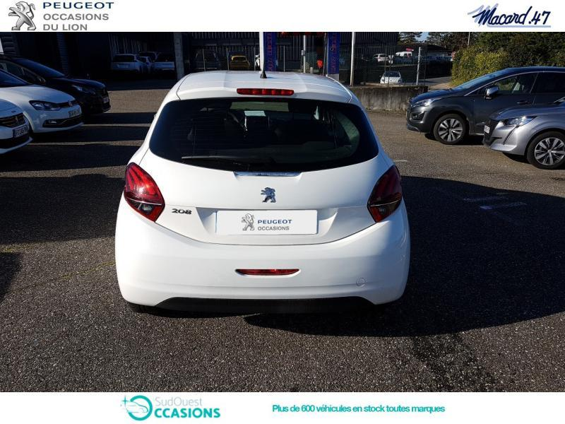 Photo 5 de l'offre de Peugeot 208 1.5 BlueHDi 100ch E6.c Active BVM5 5p à 12 500 € chez SudOuest Occasions