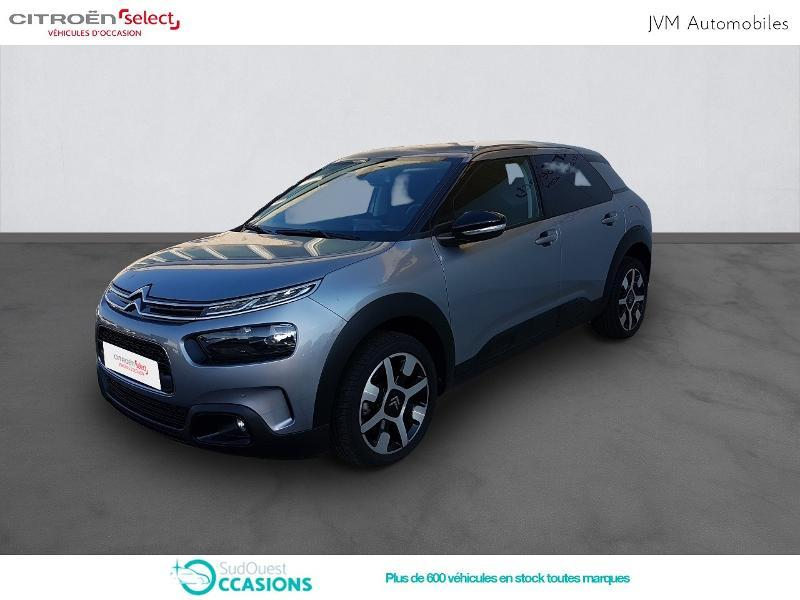 Photo 1 de l'offre de Citroën C4 Cactus PureTech 110ch S&S Shine EAT6 E6.d-TEMP à 16 990 € chez SudOuest Occasions