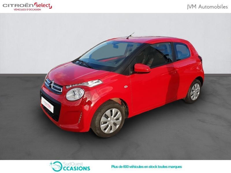 Photo 1 de l'offre de Citroën C1 VTi 68 Feel 3p à 9 590 € chez SudOuest Occasions