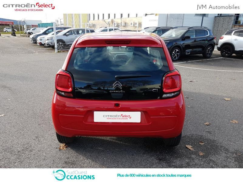 Photo 5 de l'offre de Citroën C1 VTi 68 Feel 3p à 9 590 € chez SudOuest Occasions