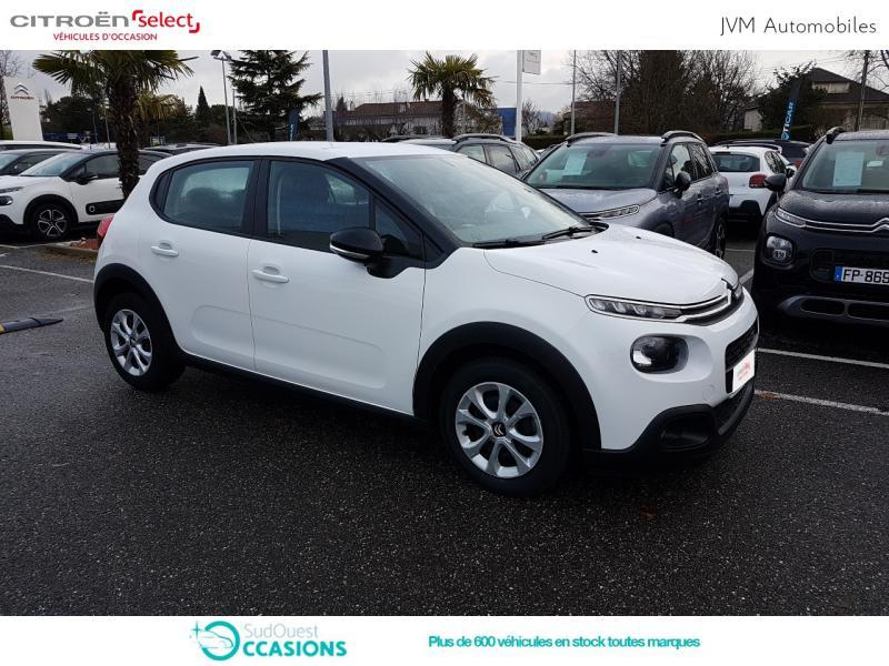 Photo 19 de l'offre de Citroën C3 BlueHDi 100ch Feel S&S E6.d-TEMP BVM5 à 12 290 € chez SudOuest Occasions