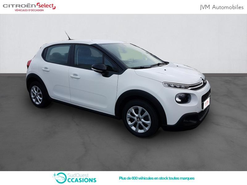 Photo 3 de l'offre de Citroën C3 BlueHDi 100ch Feel S&S E6.d-TEMP BVM5 à 12 290 € chez SudOuest Occasions