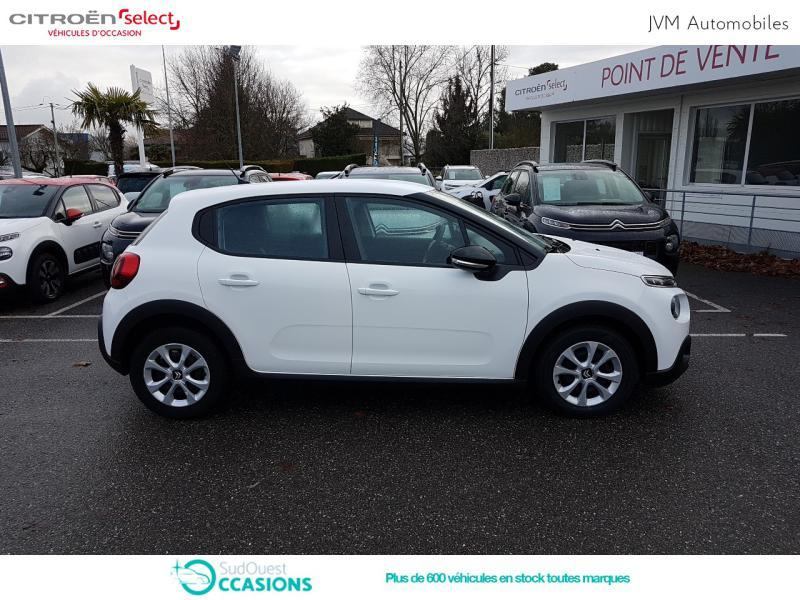 Photo 4 de l'offre de Citroën C3 BlueHDi 100ch Feel S&S E6.d-TEMP BVM5 à 12 290 € chez SudOuest Occasions