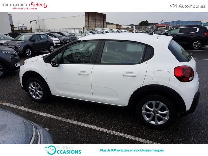 Photo 7 de l'offre de Citroën C3 BlueHDi 100ch Feel S&S E6.d-TEMP BVM5 à 12 290 € chez SudOuest Occasions