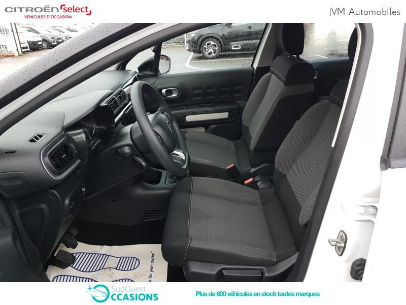 Photo 9 de l'offre de Citroën C3 BlueHDi 100ch Feel S&S E6.d-TEMP BVM5 à 12 290 € chez SudOuest Occasions
