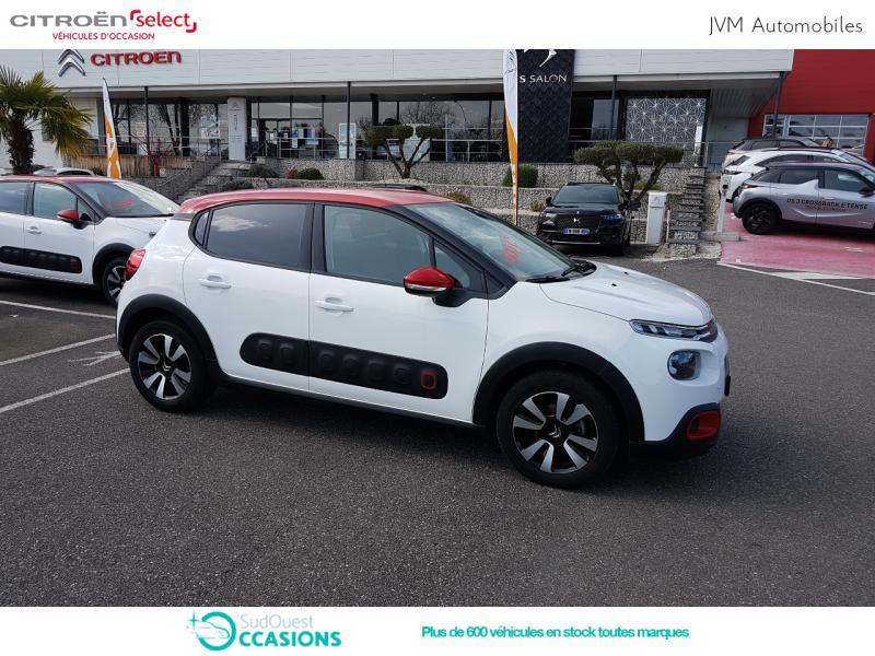 Photo 22 de l'offre de Citroën C3 PureTech 110ch Shine S&S E6.d-TEMP à 14 690 € chez SudOuest Occasions