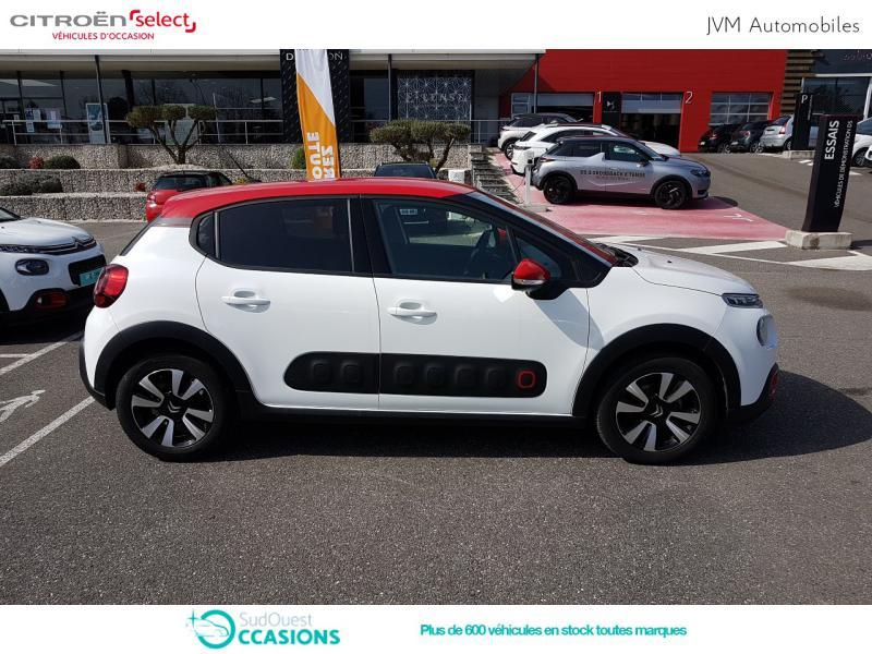 Photo 4 de l'offre de Citroën C3 PureTech 110ch Shine S&S E6.d-TEMP à 14 690 € chez SudOuest Occasions