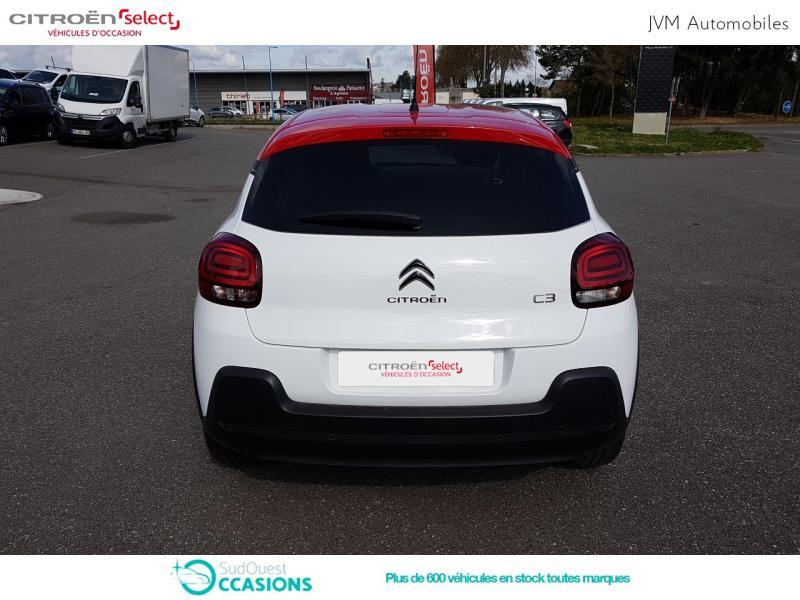 Photo 5 de l'offre de Citroën C3 PureTech 110ch Shine S&S E6.d-TEMP à 14 690 € chez SudOuest Occasions