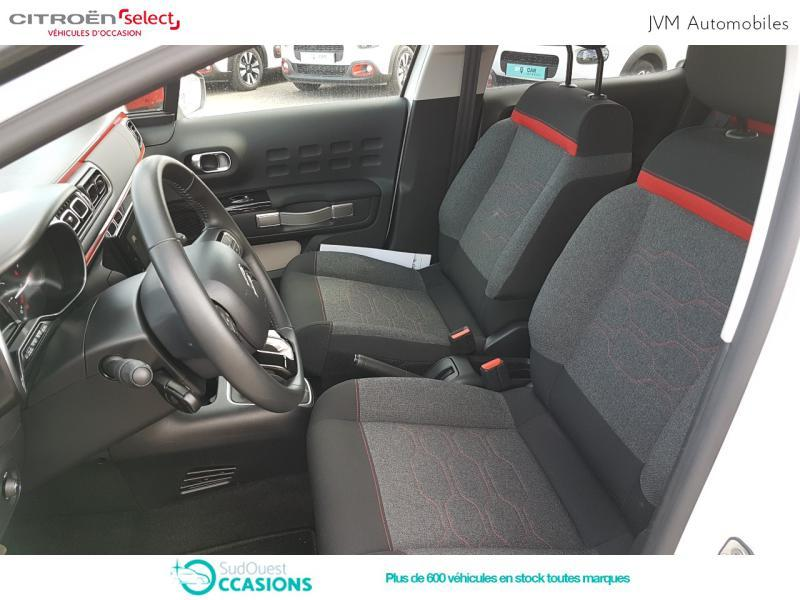 Photo 9 de l'offre de Citroën C3 PureTech 110ch Shine S&S E6.d-TEMP à 14 690 € chez SudOuest Occasions