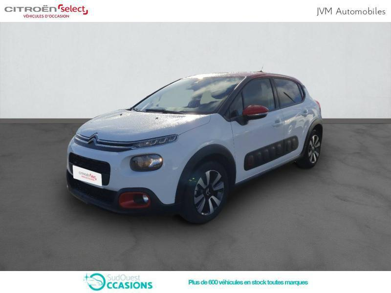 Photo 1 de l'offre de Citroën C3 BlueHDi 100ch Shine S&S E6.d-TEMP à 14 390 € chez SudOuest Occasions