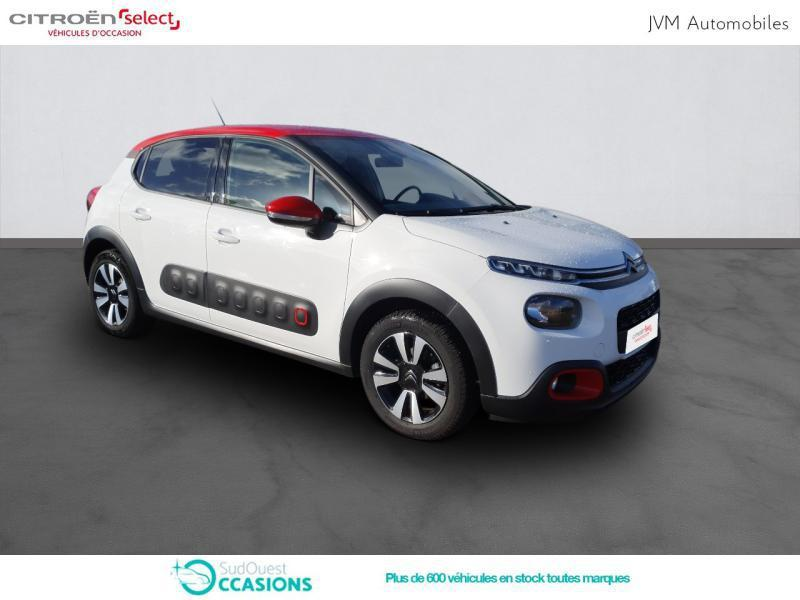Photo 11 de l'offre de Citroën C3 BlueHDi 100ch Shine S&S E6.d-TEMP à 14 390 € chez SudOuest Occasions