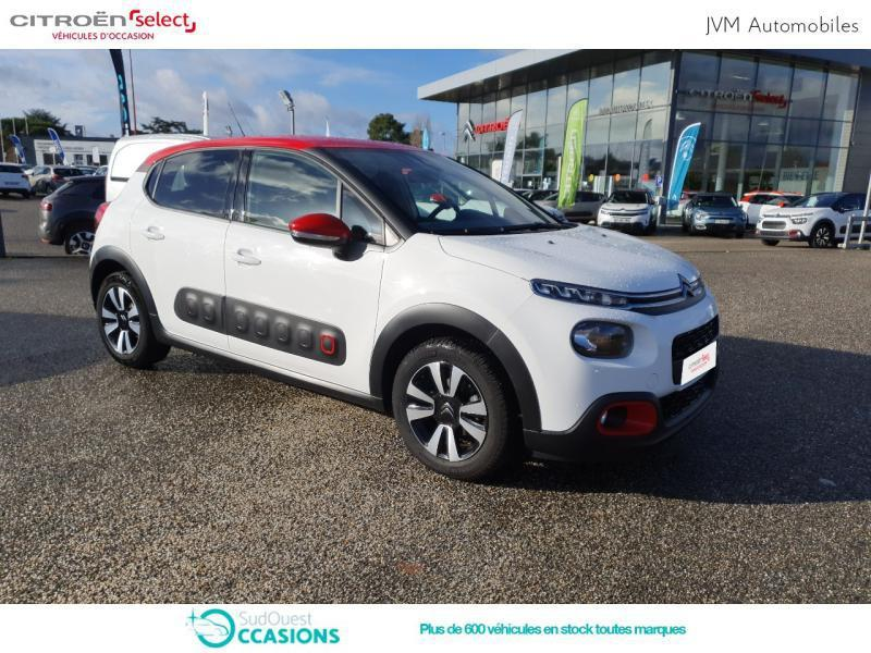 Photo 20 de l'offre de Citroën C3 BlueHDi 100ch Shine S&S E6.d-TEMP à 14 390 € chez SudOuest Occasions
