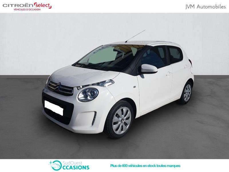 Photo 1 de l'offre de Citroën C1 PureTech 82 Feel 5p à 9 190 € chez SudOuest Occasions
