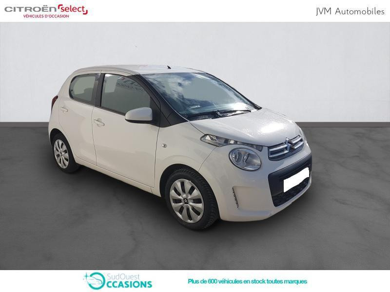 Photo 3 de l'offre de Citroën C1 PureTech 82 Feel 5p à 9 190 € chez SudOuest Occasions