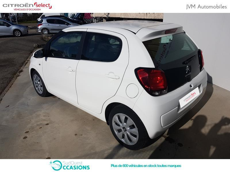 Photo 7 de l'offre de Citroën C1 PureTech 82 Feel 5p à 9 190 € chez SudOuest Occasions