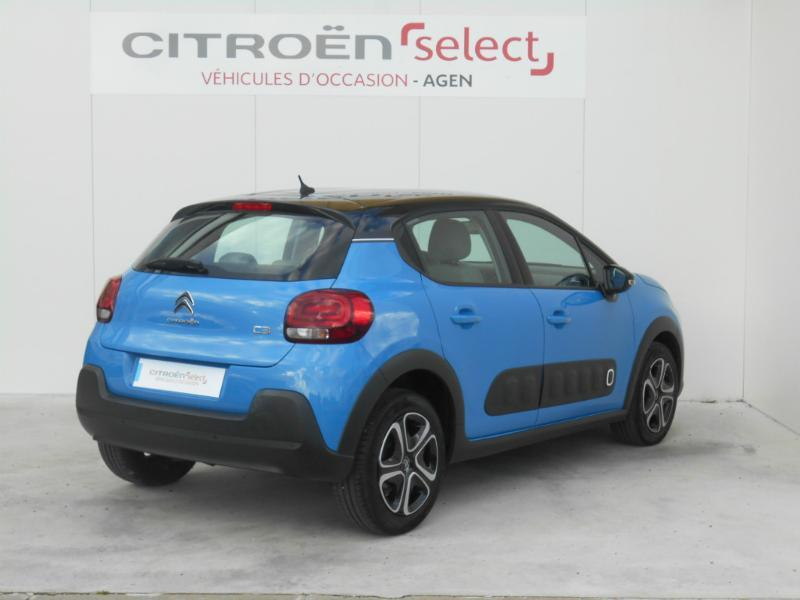 Photo 3 de l'offre de Citroën C3 BlueHDi 100ch Shine S&S à 14 990 € chez SudOuest Occasions