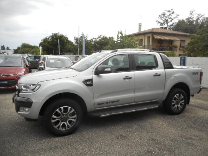 Photo 2 de l'offre de Ford Ranger 3.2 TDCi 200ch Double Cabine Wildtrak BVA à 33 980 € chez SudOuest Occasions