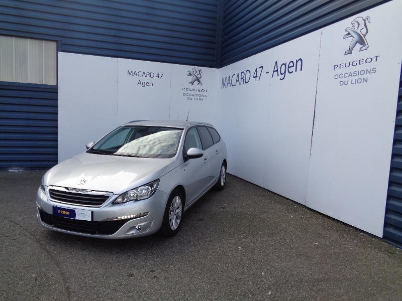 Photo 1 de l'offre de Peugeot 308 SW 1.6 BlueHDi 120ch Style S&S EAT6 à 13 690 € chez SudOuest Occasions