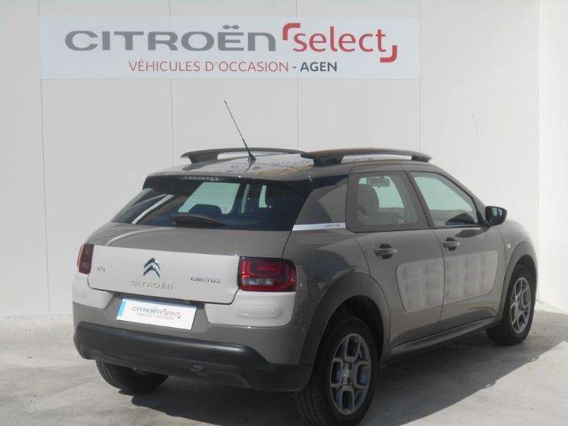 Photo 3 de l'offre de Citroën C4 Cactus BlueHDi 100 Feel Edition à 11 990 € chez SudOuest Occasions