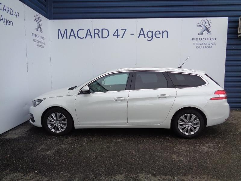 Photo 4 de l'offre de Peugeot 308 SW 1.6 BlueHDi 120ch S&S Allure EAT6 à 22 500 € chez SudOuest Occasions