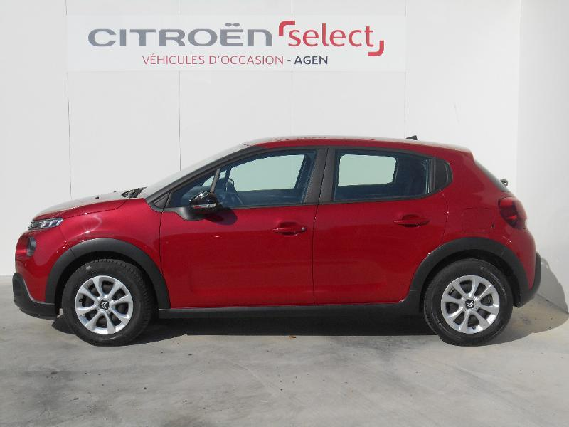 Photo 2 de l'offre de Citroën C3 PureTech 82ch Feel à 13 290 € chez SudOuest Occasions