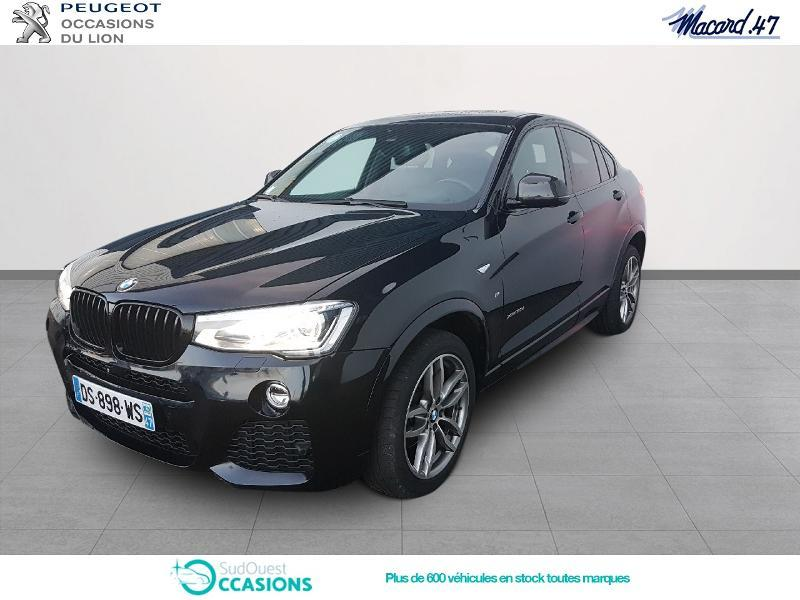 bmw x4 xdrive30da 258ch m sport d 39 occasion agen sudouest occasions. Black Bedroom Furniture Sets. Home Design Ideas