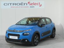 Photo 1 de l'offre de Citroën C3 BlueHDi 100ch Shine S&S à 14 990 € chez SudOuest Occasions